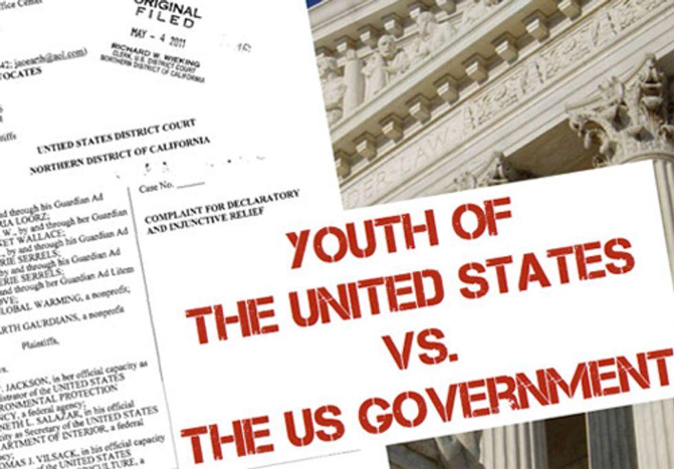 Kids vs. the U.S. Government