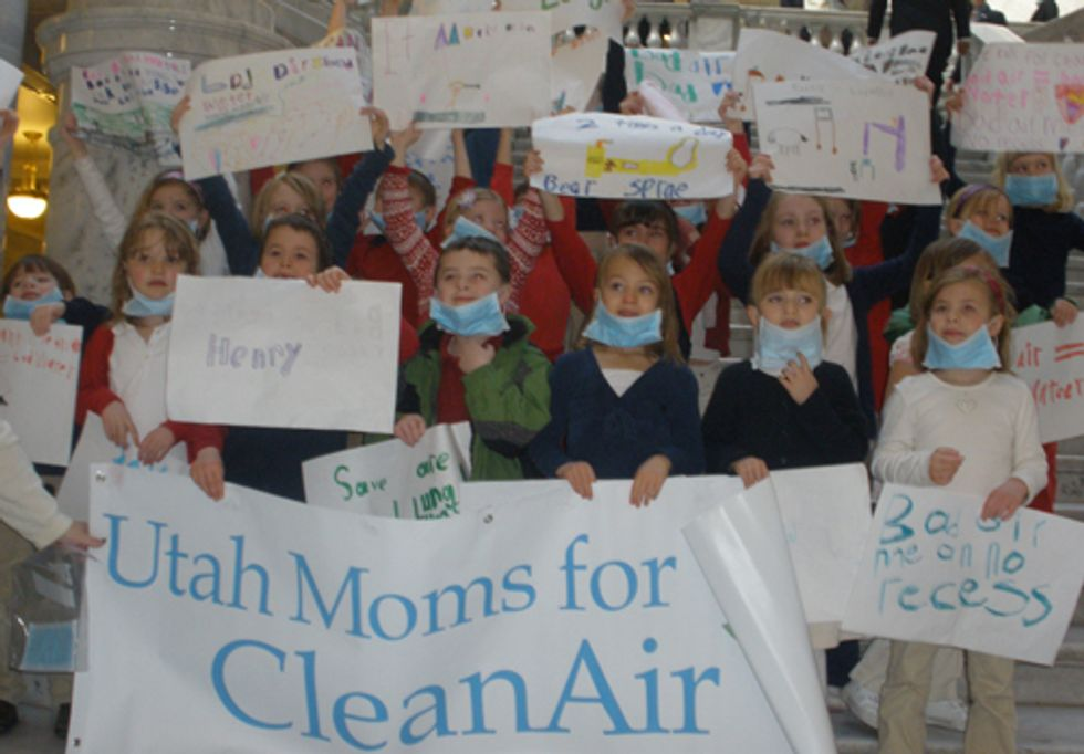 Citizens Take Charge of Clean Air in Utah
