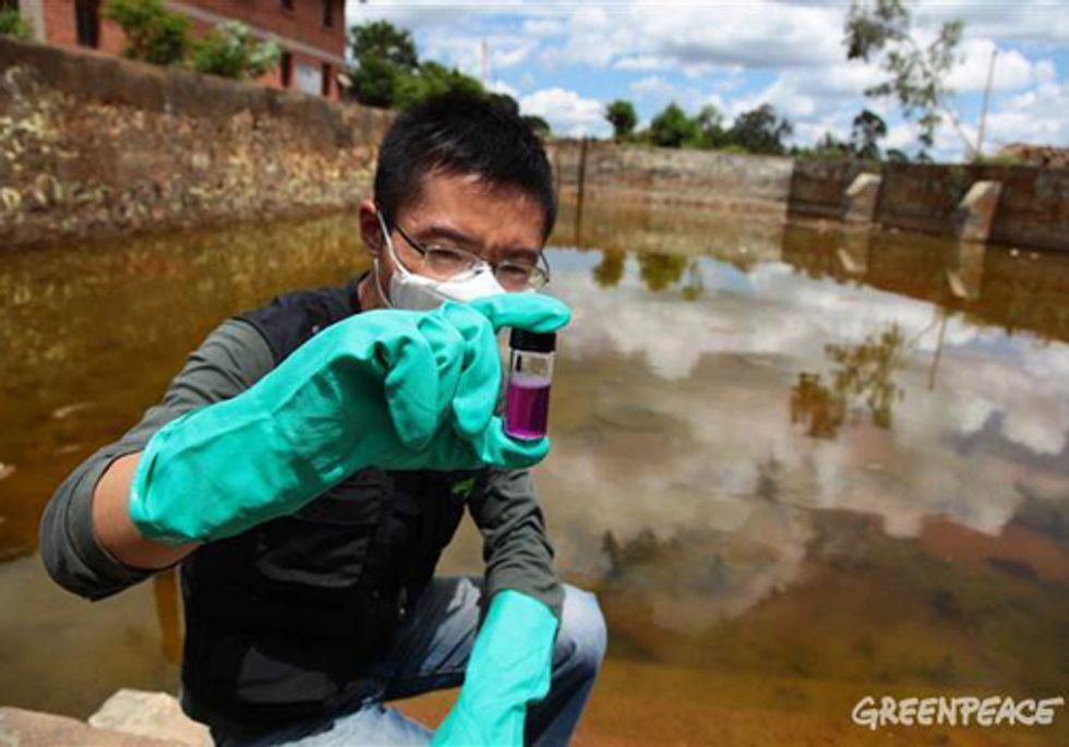 Greenpeace Campaign Ignites National Clean-Up of Toxic Dump Sites in China