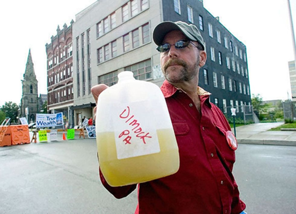 Victims of Contaminated Water from Fracking Receive Essential Holiday Gift