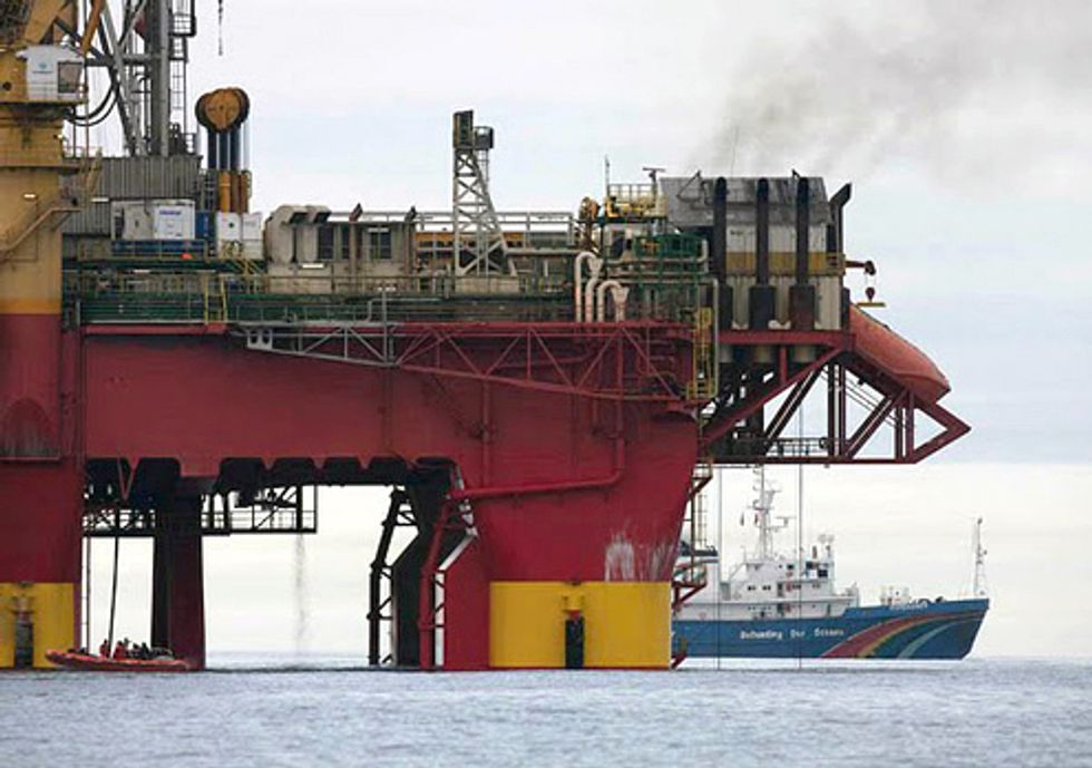 Stop the Arctic Oil Disaster Plan