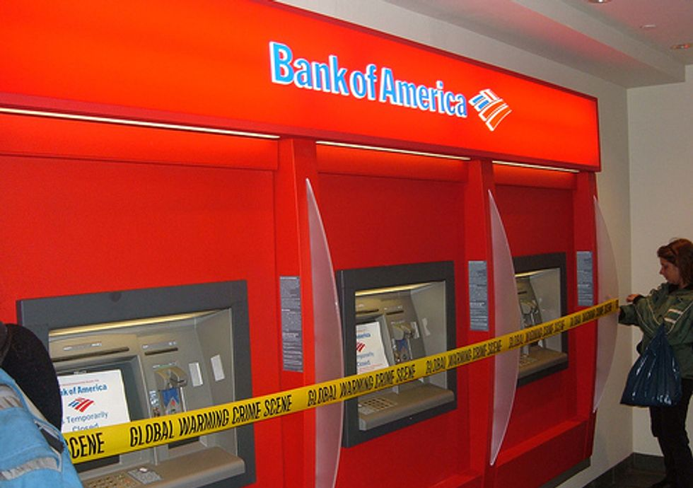 Environmental and Economic Justice Communities Target Bank of America