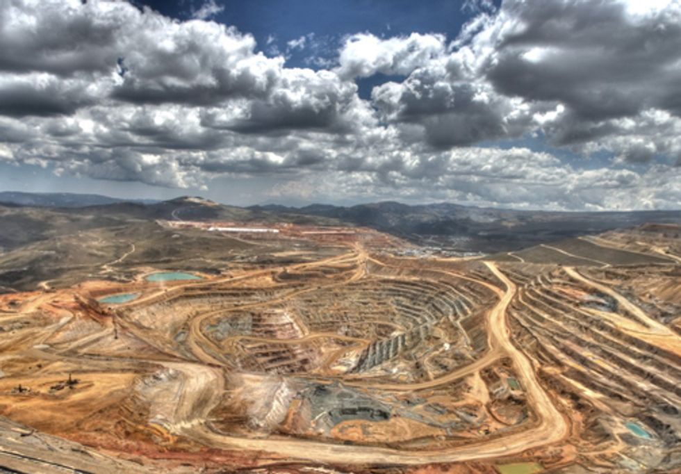 Report Reveals Metal Mining Industry Is Nation's Top Toxic Polluter