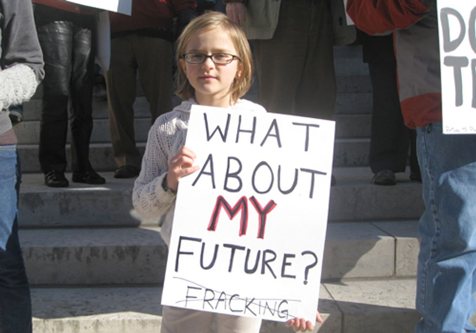 Ohioans Speak Out Against Fracking