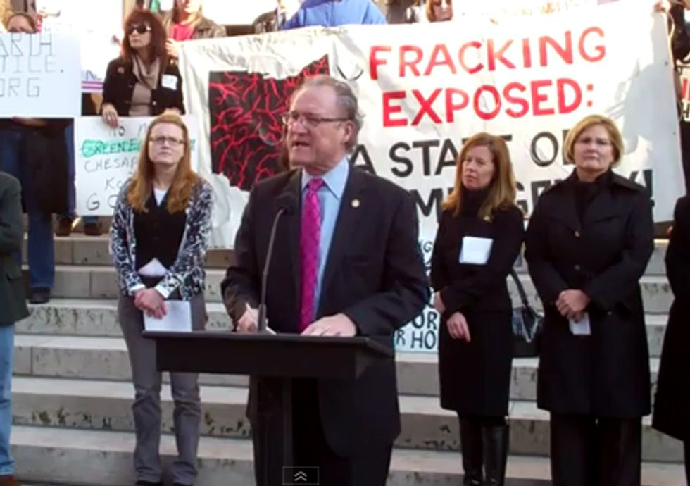 Videos of Speakers at Ohio's Fracking Rally