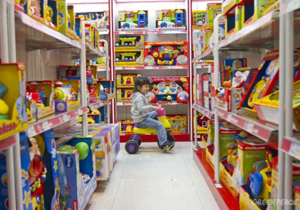 Greenpeace Adds to List of Toxic Toys