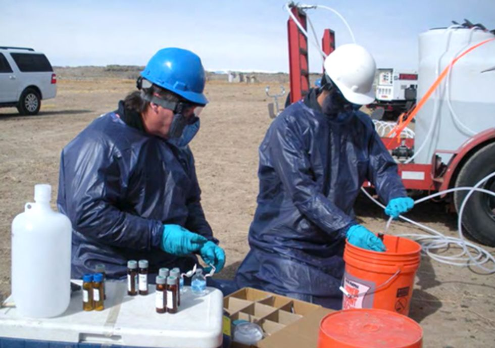 Groups Denounce Attack on U.S. EPA Investigation of Hydraulic Fracturing Contamination
