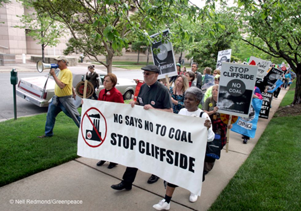 Agreement Cuts Pollution on Old, Dirty Coal Plants in Carolinas