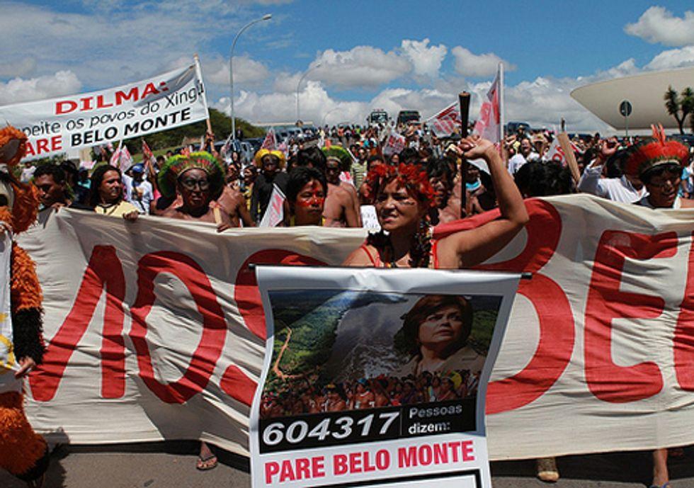 Protestors Paralyze Belo Monte Dam Construction