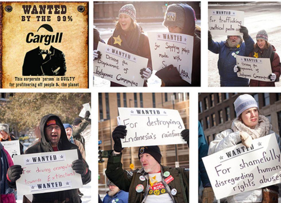 Activists Stage Citizens' Arrest of Cargill Inc.