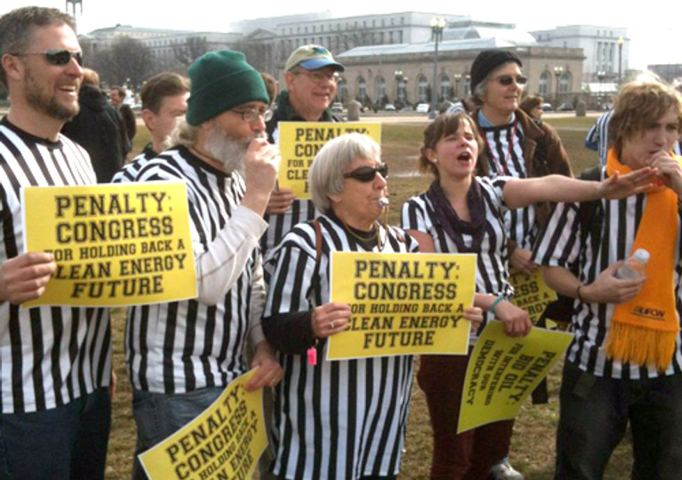 Blowing the Whistle on Dirty Energy Money