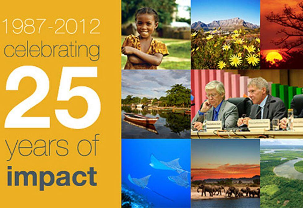 Conservation International Celebrates 25 Years of Groundbreaking Accomplishments