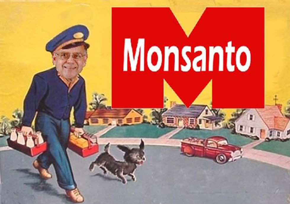 ACTION: Why Is a Monsanto Lobbyist Serving as the FDA's Food Safety Czar?
