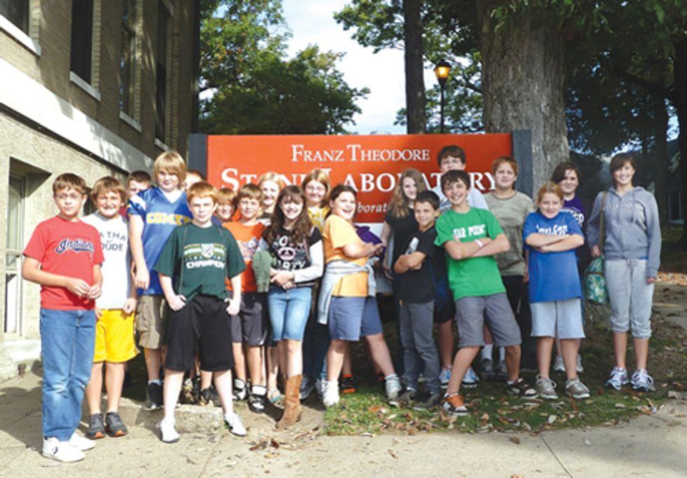 Students Bring Awareness to Lake Erie Algal Blooms
