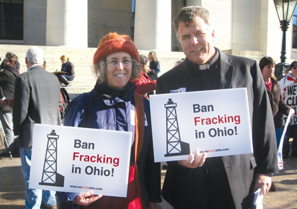 EVENT: Fracking Protest at Ohio Gov. Kasich's State of the State on Feb. 7
