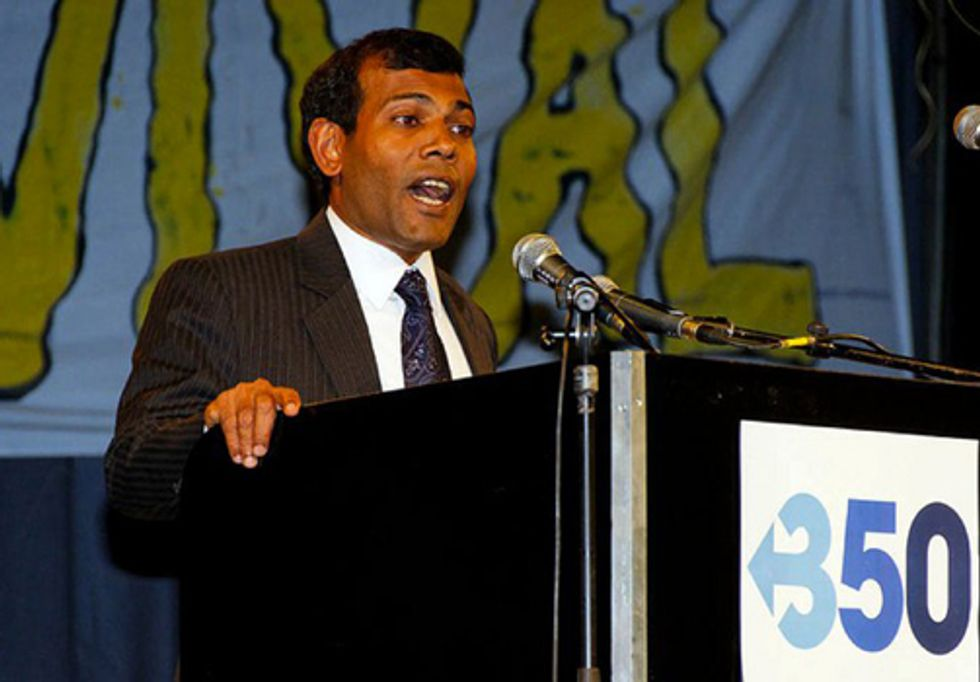 ACTION: Sign Our Petition to Keep President Nasheed Safe