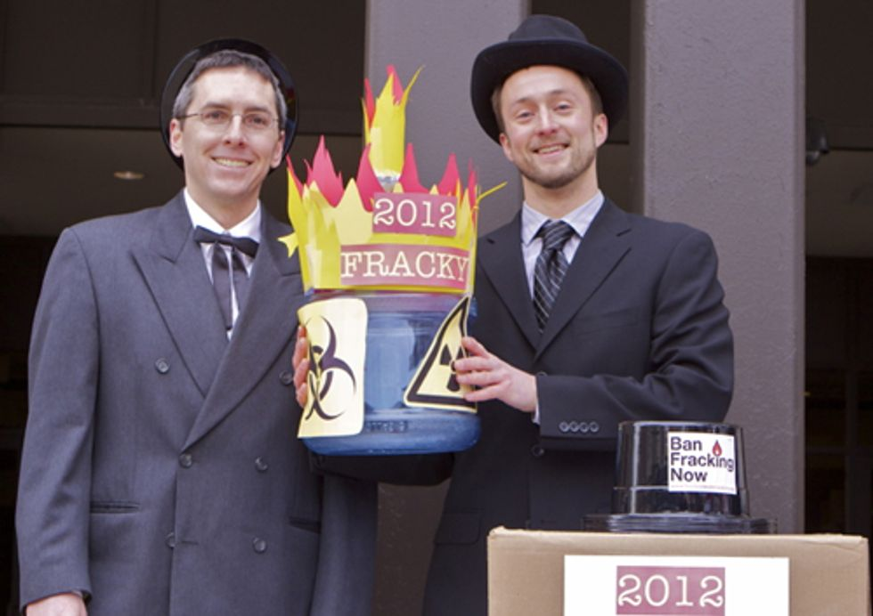 And This Year's 'Fracky Awards' Go To...