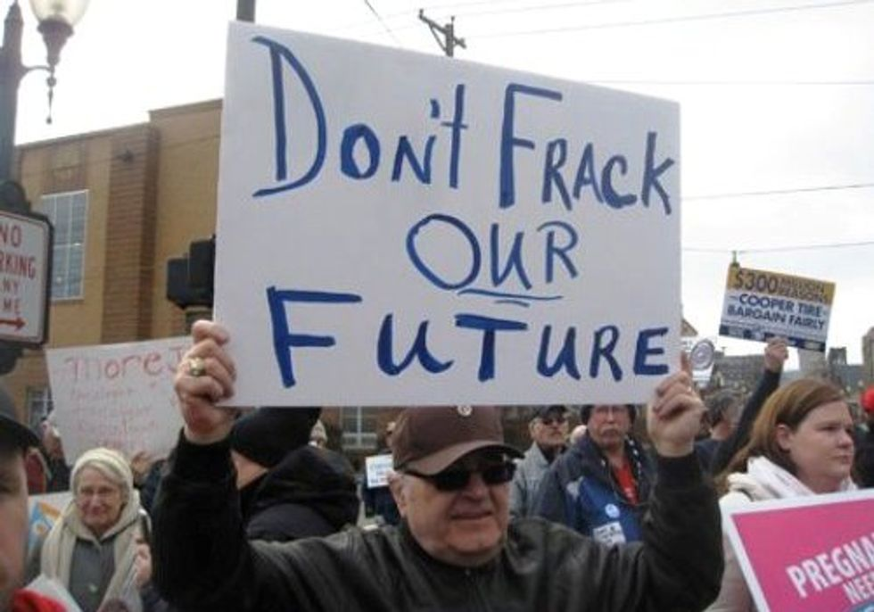 EVENT: Anti-Fracking Rally in Kent