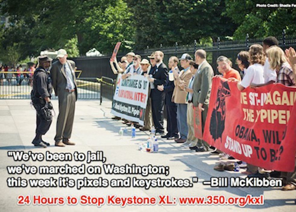 Environmental Organizations Unite in 24-Hour Drive to Stop Keystone XL
