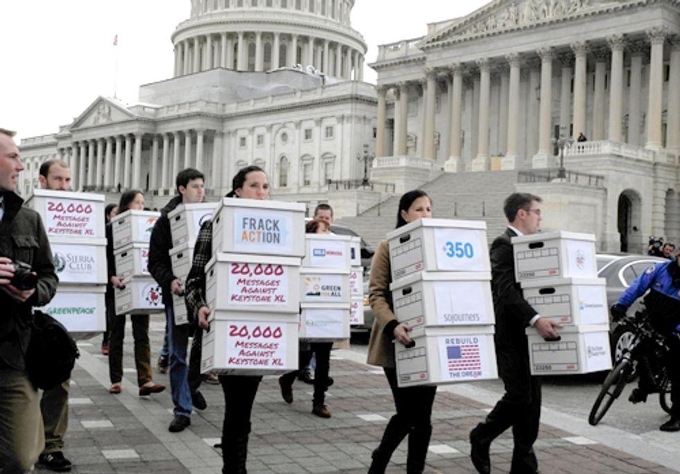 More than 800,000 Americans Tell the Senate: Stop the Keystone XL