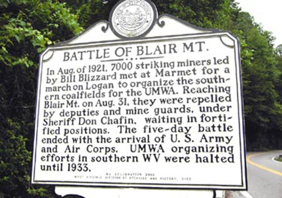 Should Arch Coal Be Allowed to Destroy Historic Blair Mountain?