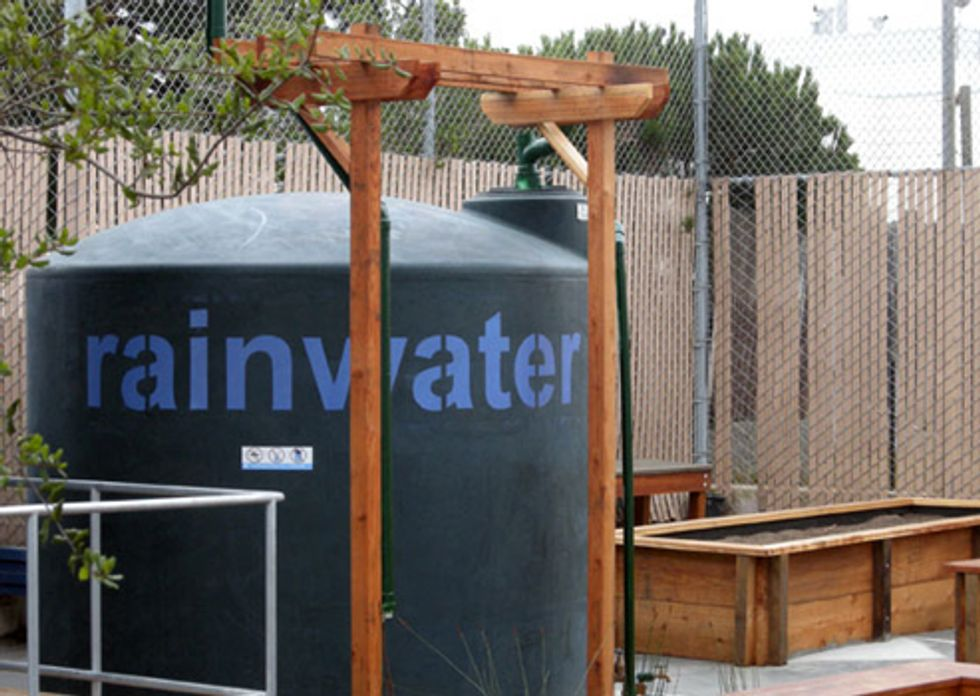 Capturing Rainwater from Rooftops Can Alleviate Nation's Water Woes