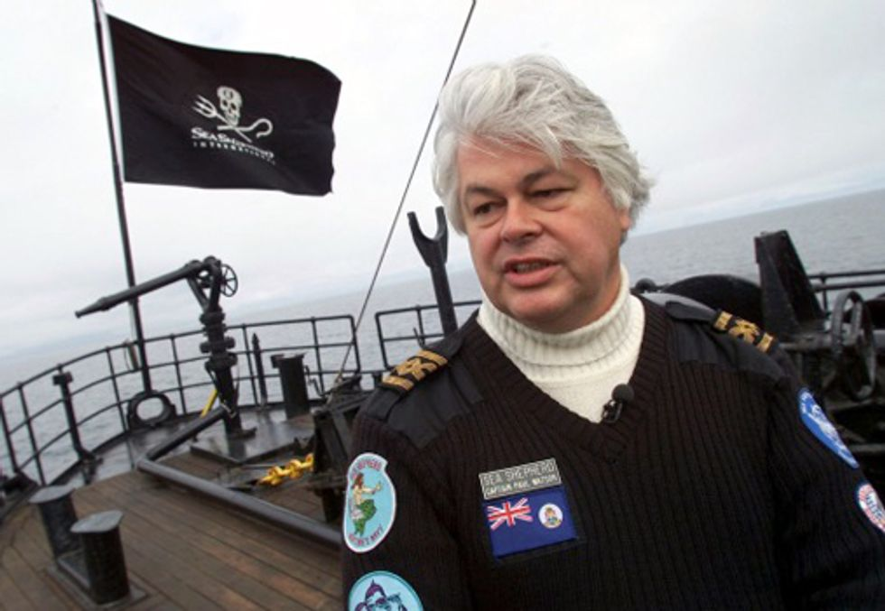 Japanese Whaler's Injunction Against Sea Shepherd Denied in U.S. District Court