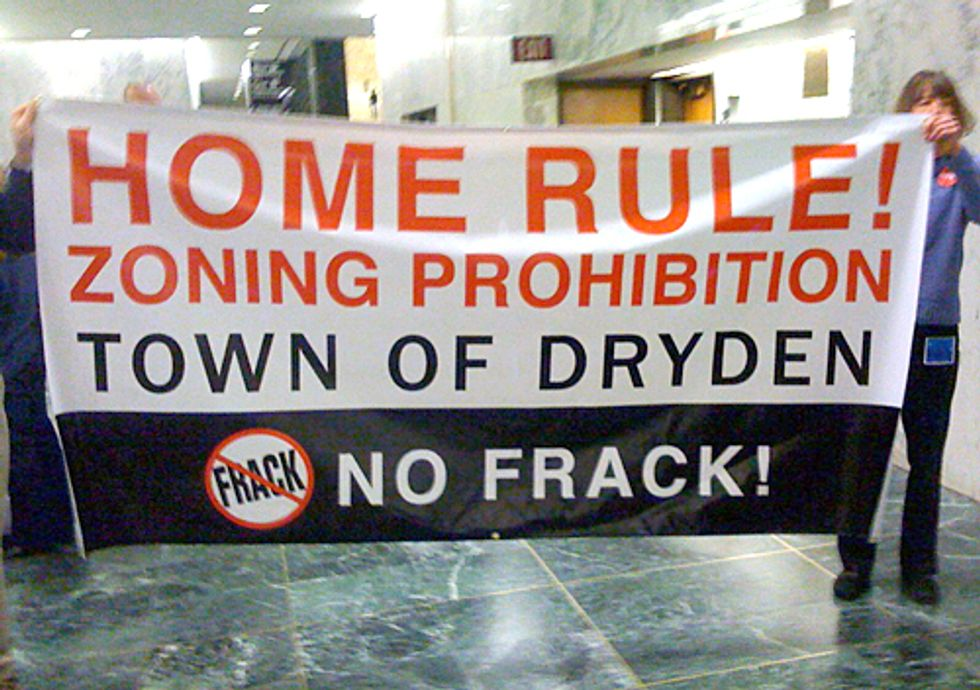 BREAKING: Court Rules Town of Dryden Can Ban Fracking