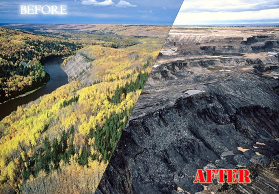 ACTION: Tell European Commission that Tar Sands Oil Is 'Highly Polluting'