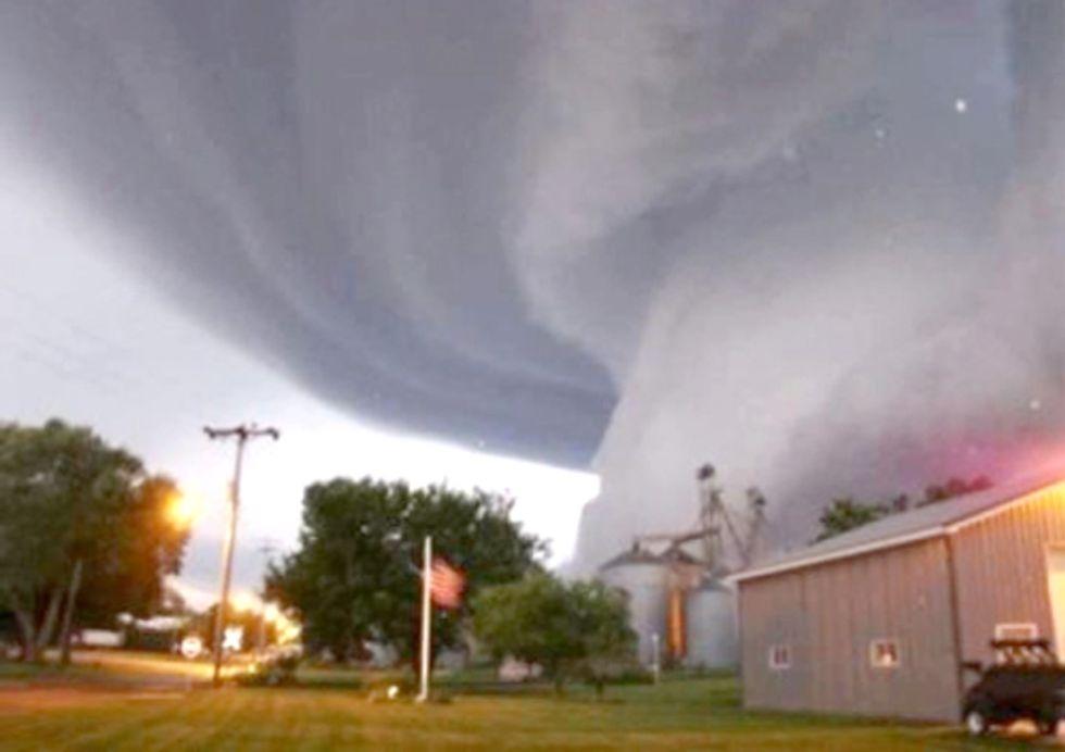 Tornado Nearly Strikes USEC Centrifuge Facility