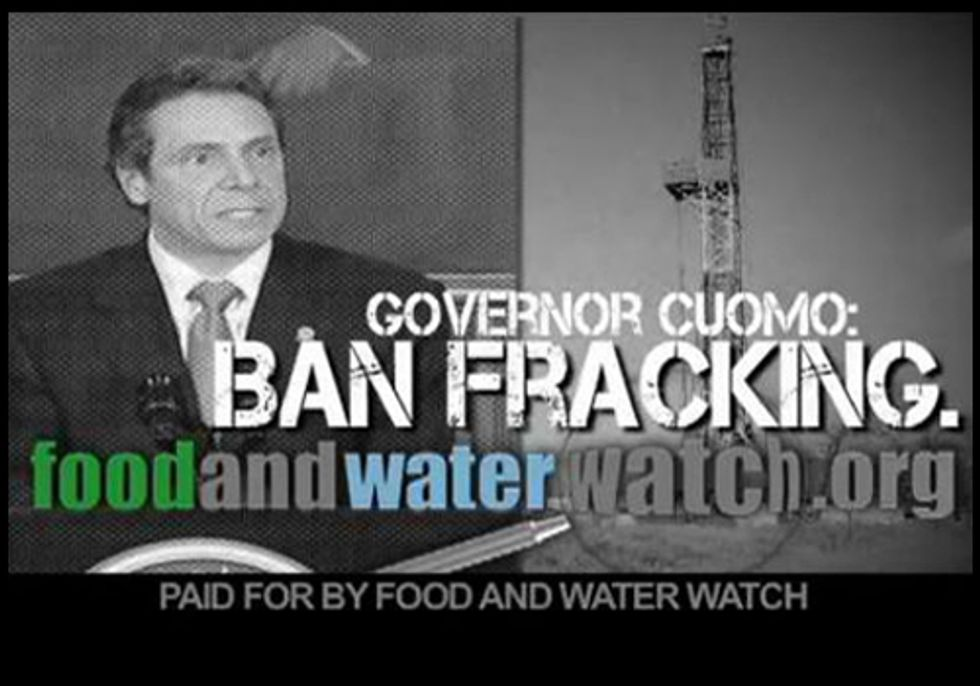 Buffalo to Cuomo: Ban Fracking Now!