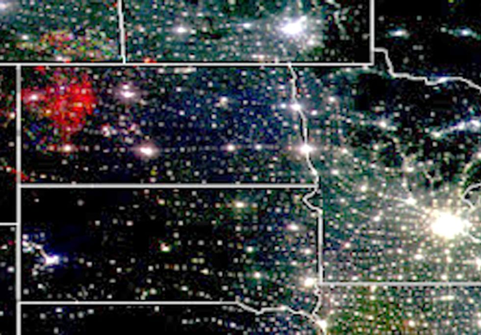 North Dakota's Oil Boom from Space
