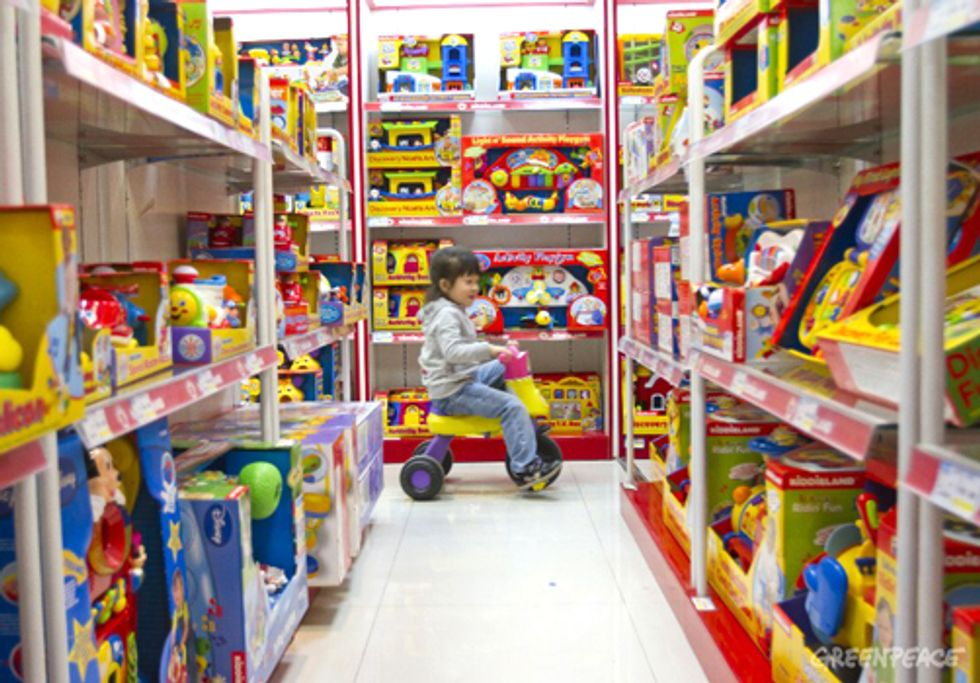 Toxic Heavy Metals Found in Children's Products on the Chinese Market