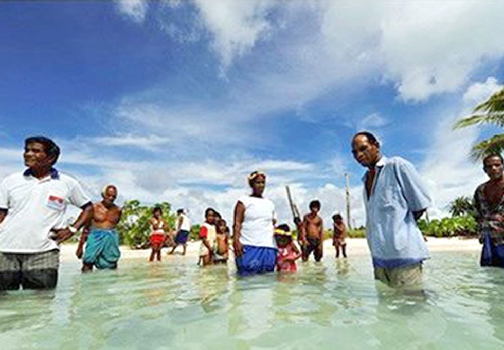 No Voices for Small Island Threatened By Climate Change