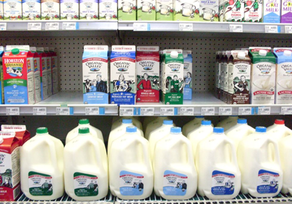 Organic Milk—Are You Getting What You Pay For?