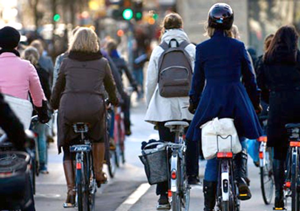 Bicycling Helps Make Cities Cool