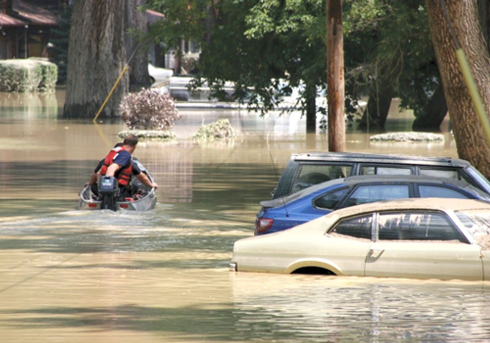 Report Looks at Health Threats from Flooding in a Warming World