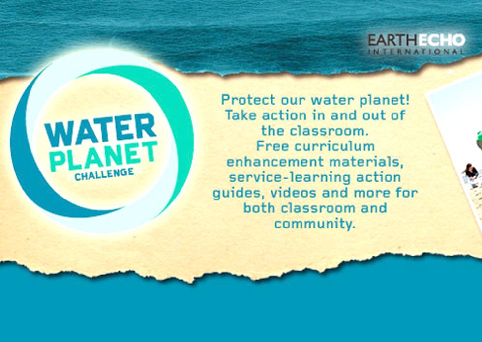 Water Planet Challenge Adds Resources to Help Educators in the Classroom