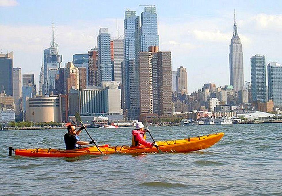 """No Time for """"Slacktivism,"""" Here on the Hudson"""