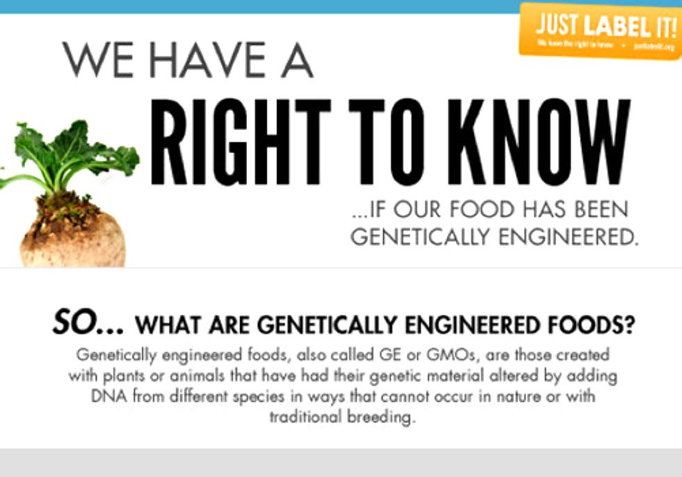 One Million Americans Tell FDA: We Have a Right to Know What's in Our Food