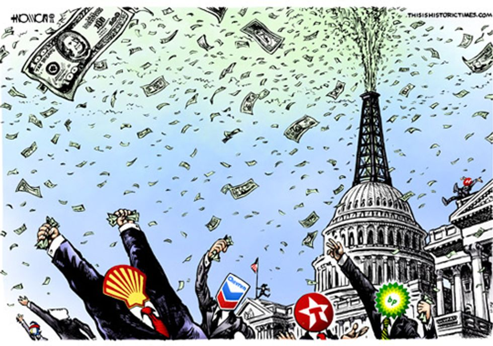 Senate Debates Bill to End Big Oil Handouts