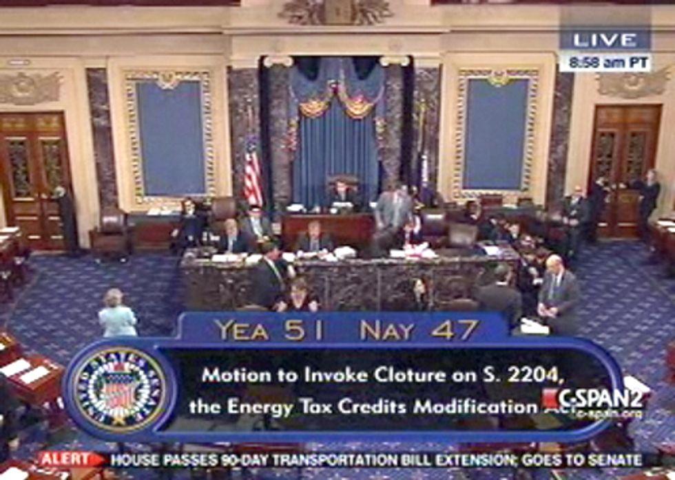 Senate Republicans Kill Bill to Reduce Big Oil Subsidies