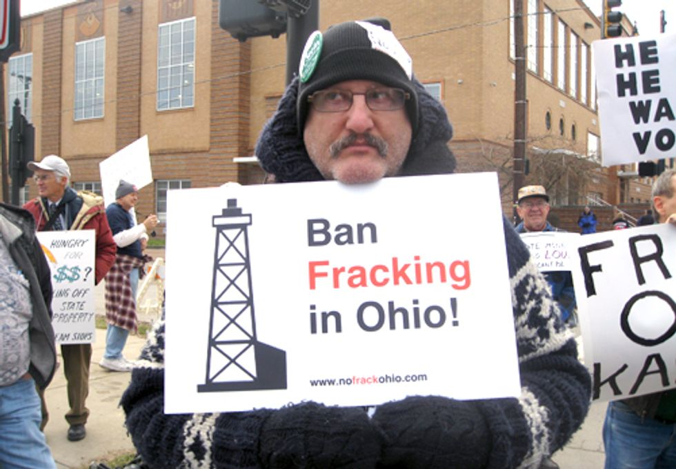 Stop Fracking Geauga! Rally