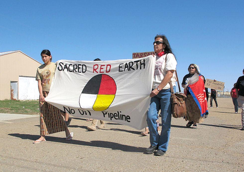 Lakotas Launch Hunger Strike against Tar Sands Pipelines