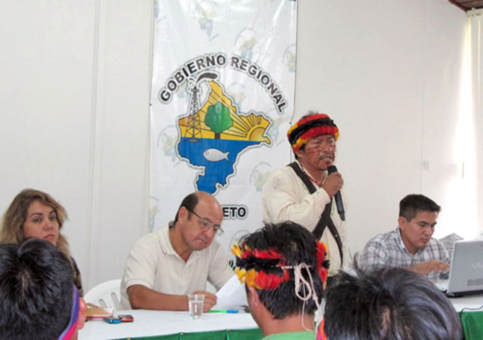 Quechua People Set for Showdown with Oil Company in Peru