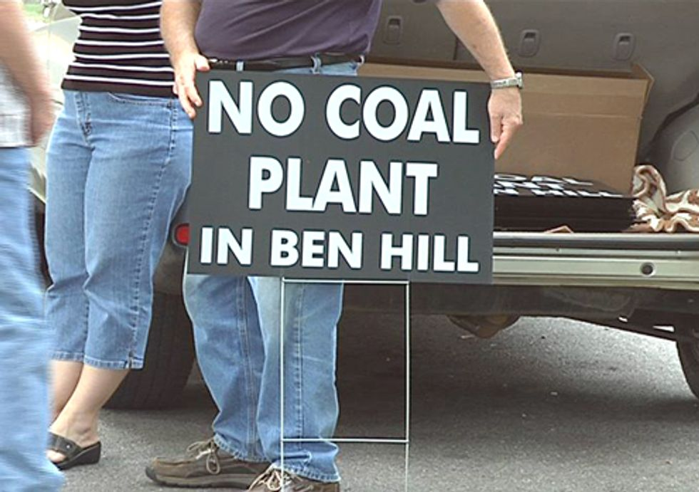 Proposed Ben Hill Coal Plant Cancelled