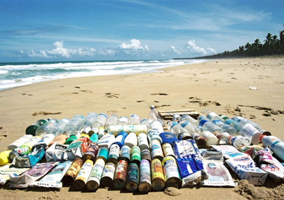 Groups Call on European Countries to Cut Marine Litter by Half