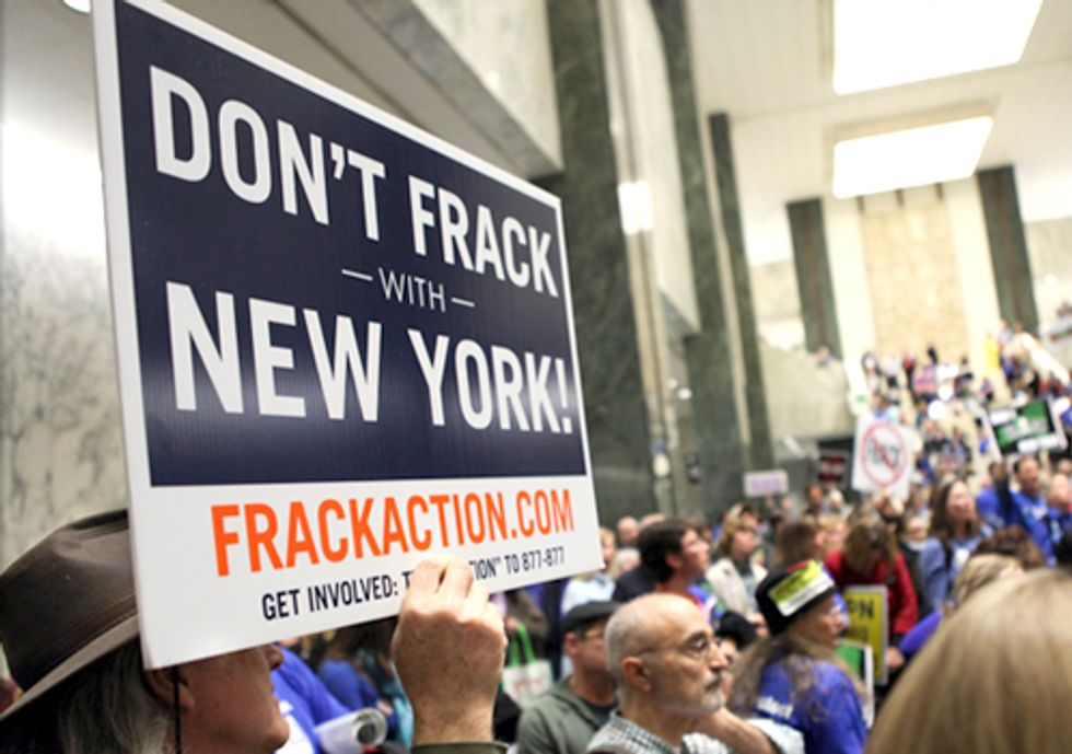 Don't Frack with New York—Albany Becomes 95th NY Municipality to Enact Fracking Ban