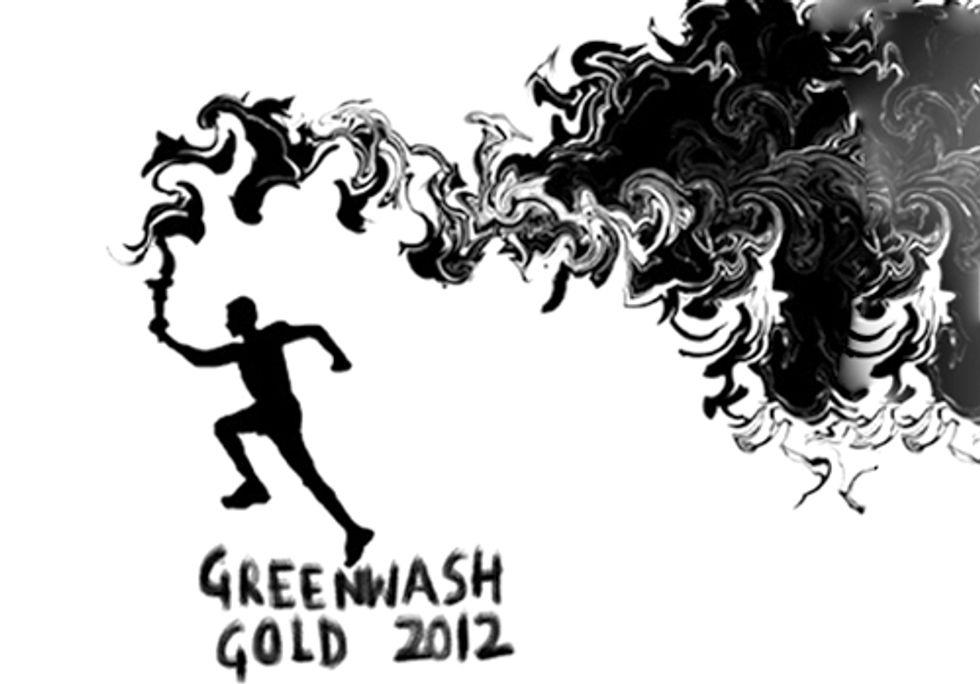 100 Days of Olympic Greenwashing