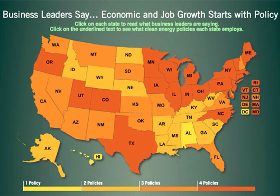 Economic and Job Growth Starts with Policy